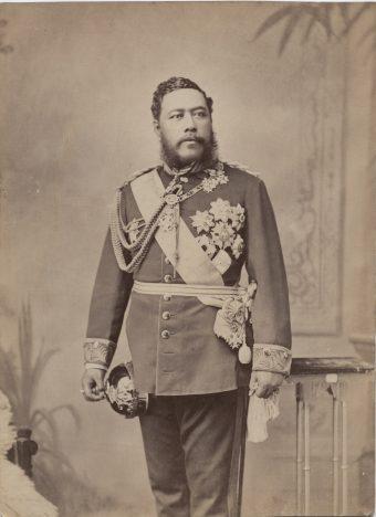 Porträt von König David Kalakaua