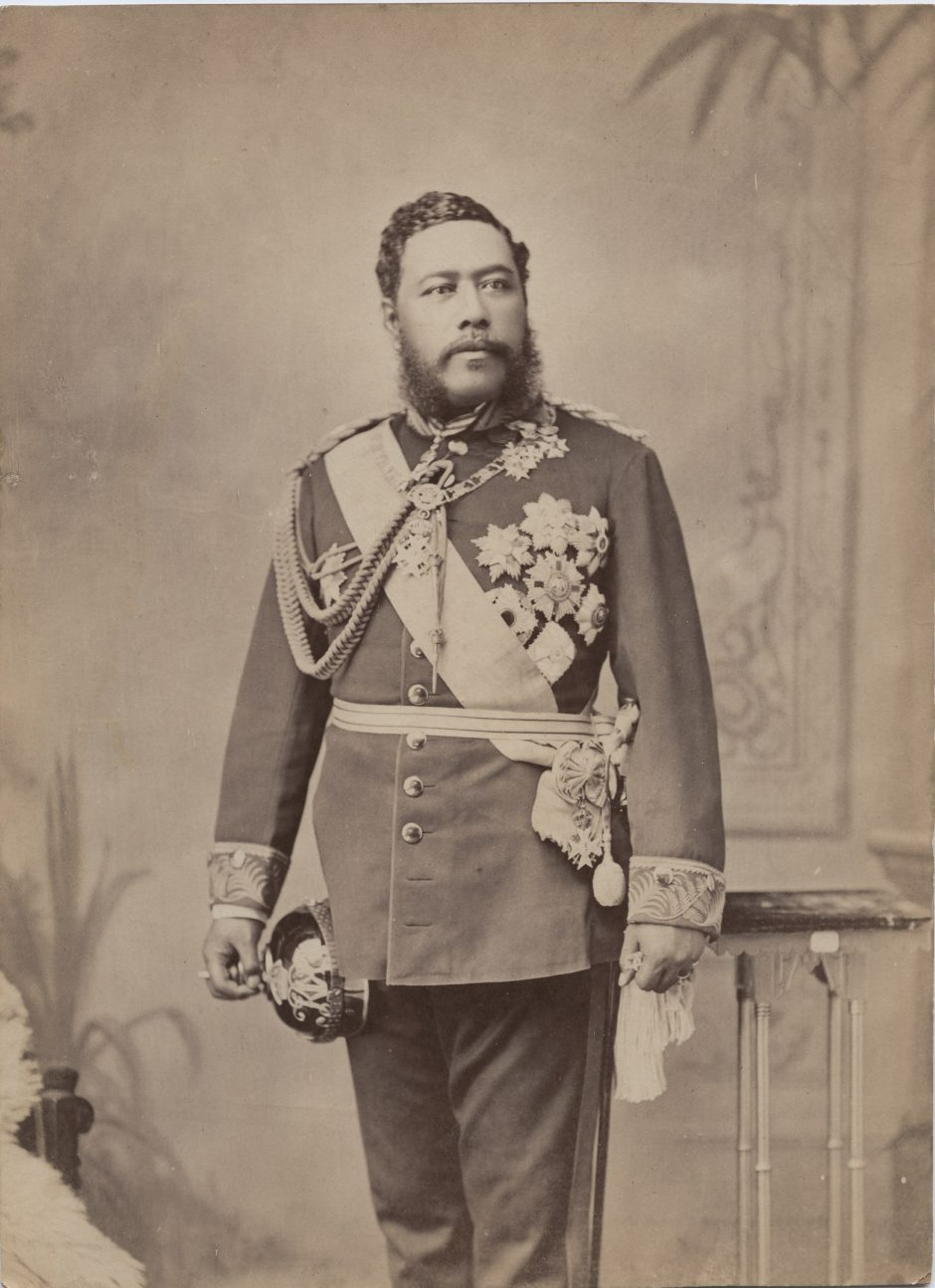 Portrait of King David Kalakaua, Hawaii