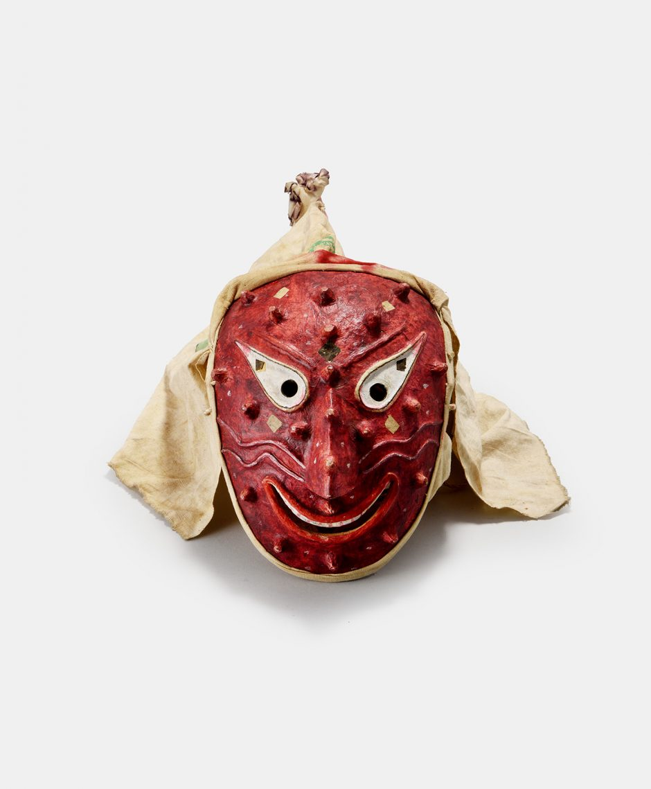 Sandae dance mask, colourful, pimples