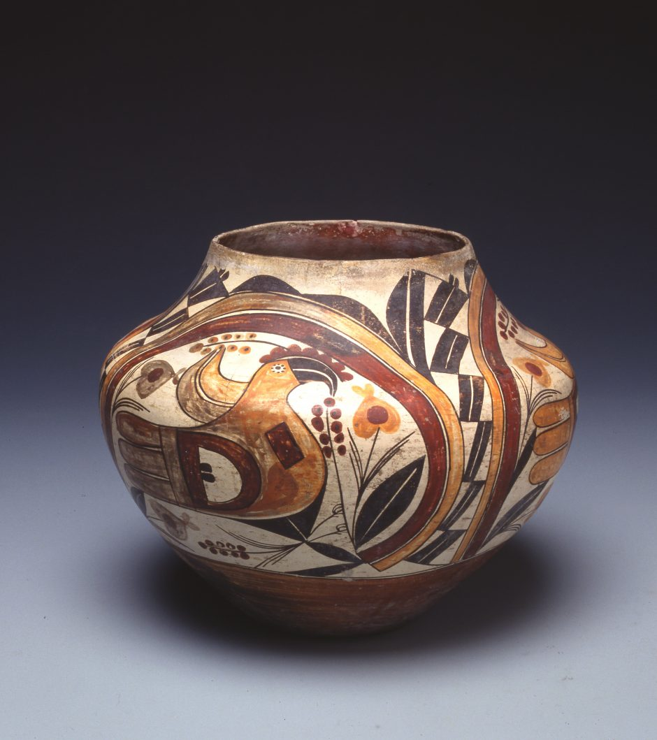 Painted earthenware vessel, Inv. Nr. B 6089