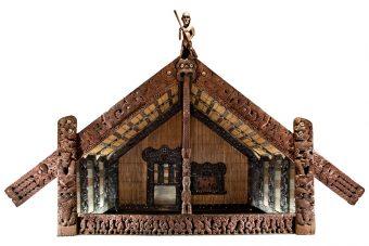 Portal Rauru - Versammlungshaus der Maori