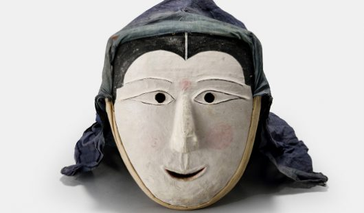 Mask for the mask dance Sandae