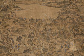 chinesisches Monumentalgemälde