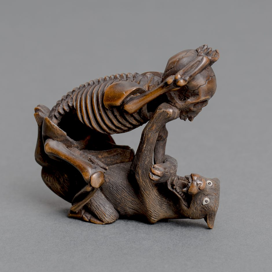 Netsuke-Figur, Japan, Ende 19. Jh.