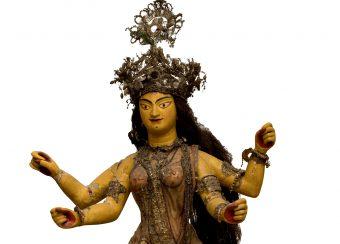 Göttin Durga als Retterin der Welt