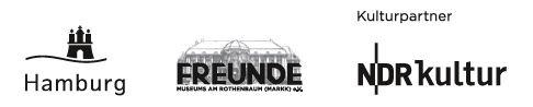 Logoleiste Behörde für Kultur und Medien Hamburg, Freunde des Museums am Rothenbaum, NDR Kultur