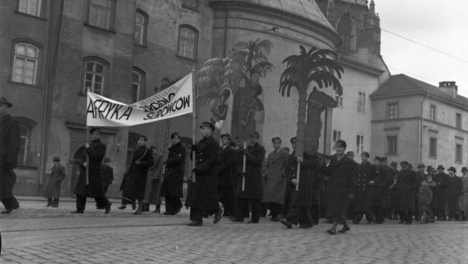 Maritime Colony Day organised by the Maritime and Colonial League (Krakow, 1938).