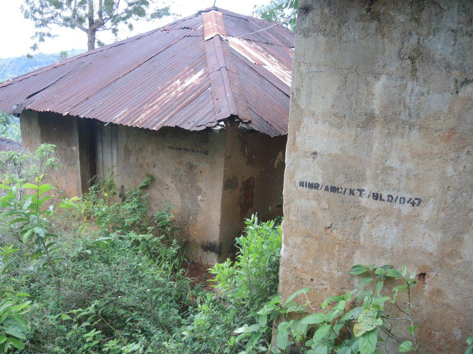 Abandoned staff houses