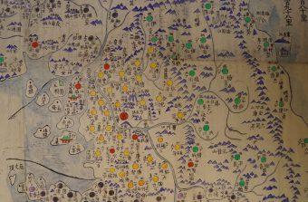 Map Torip'yo, Corea, 1820