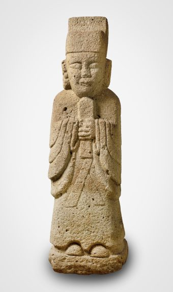 Figure of a Tomb Guard, stone