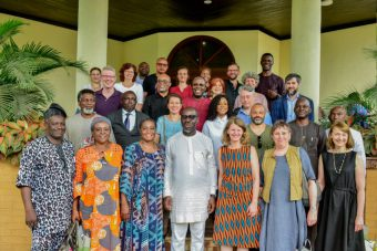 Gruppenbild Benin Dialogue, 2019