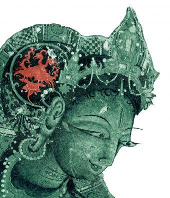 Detail der Gottheit Tara