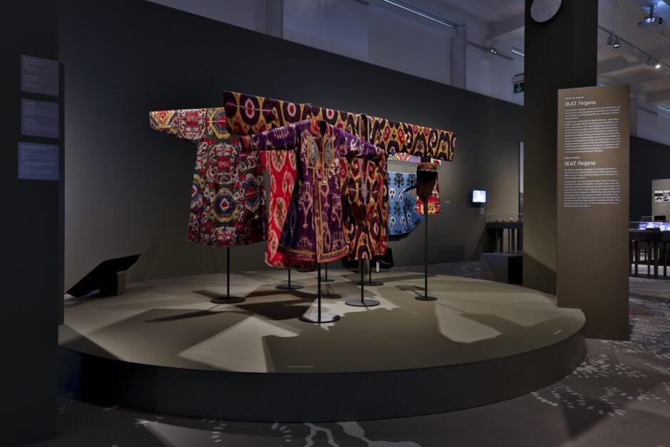 Blick in den Ausstellungsraum Steppen und Seidenstraßen