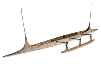 Canoe made from wood
