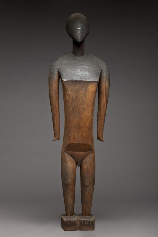 wooden figure of a man