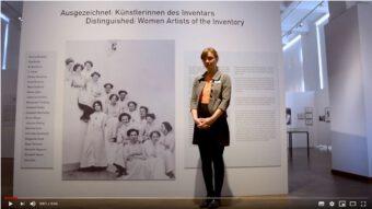 Einführung in den digitalen Rundgang Ausgezeichnet: Künstlerinnen des Inventars mit Kuratorin Rahel Wille