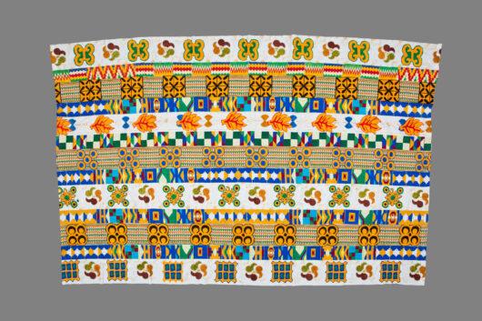 Colourful Kente cloth