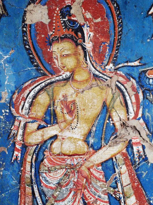Gelber Bodhisattva