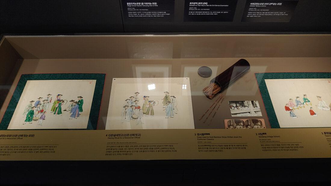 Objekte der Koreasammlung des MARKK im National Folk Museum of Korea
