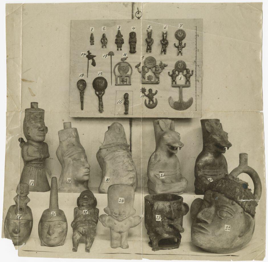 Foto von Andenfälschungen, 1895, Museum für Völkerkunde (MARKK)